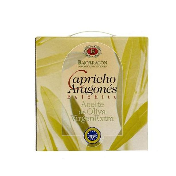 Oferta de Aceite de oliva virgen extra Capricho Aragonés 3x 500 ML por 19€