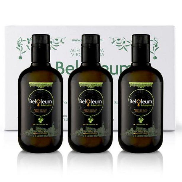 Oferta de Aceite de oliva virgen extra Arbequina - Caja de 12 x 500 ml por 95€