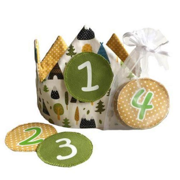 Oferta de Corona Infantil de Cumpleaños Forest por 24,9€