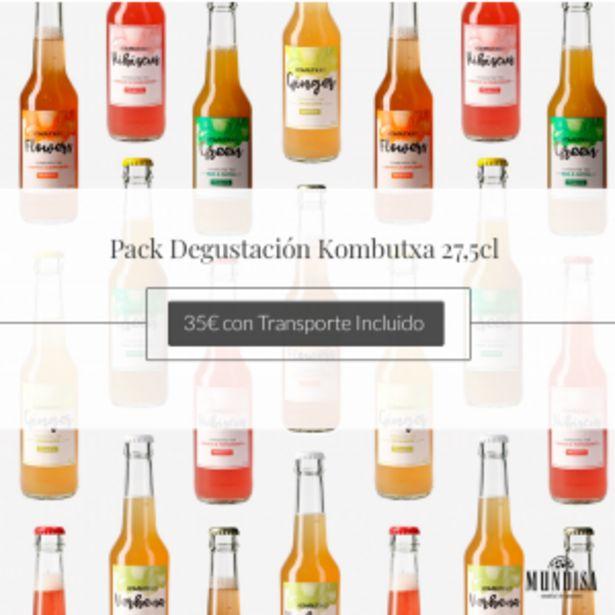 Oferta de Pack Degustación Tés Kombutxa por 35€