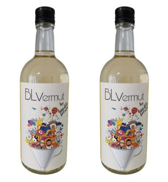 Oferta de Pack 2 botellas vermut blanco 70 cl por 29,9€