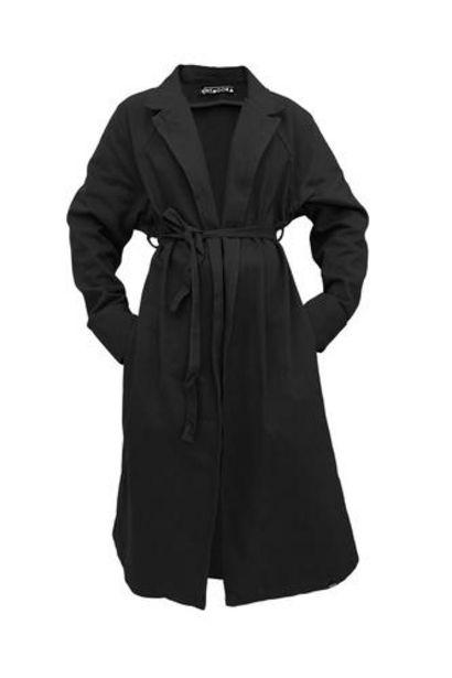 Oferta de Long Trench - Basic Black • PITAGORA por 84,5€