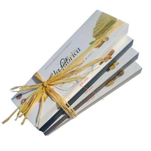 Oferta de Pack 4 turrones almendra & chocolate blanco, almendra & panela, avellana & panela, nuez & panela - 200 g tableta por 41,5€