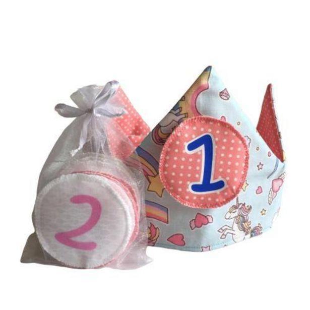 Oferta de Corona Infantil de Cumpleaños Fantasía por 24,9€
