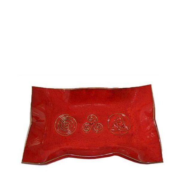 Oferta de Bandeja Roja esmaltada por 16€