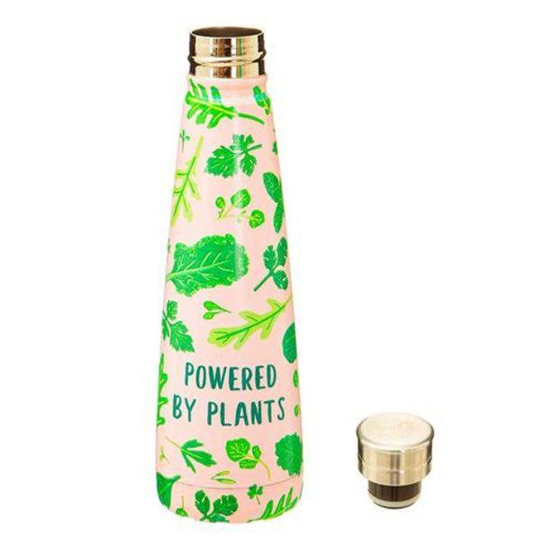 Oferta de Botella reutilizable eco vegano Powered by plants por 19,9€