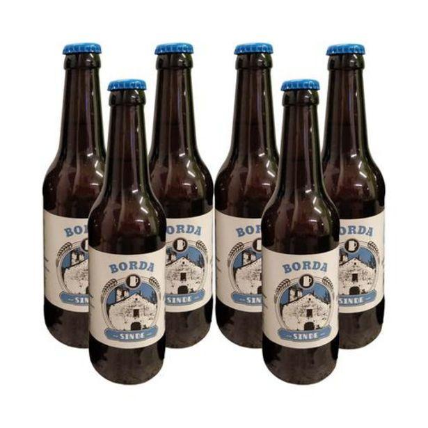 Oferta de Cerveza sin gluten eco Golden ale - 6x33 cl por 20€