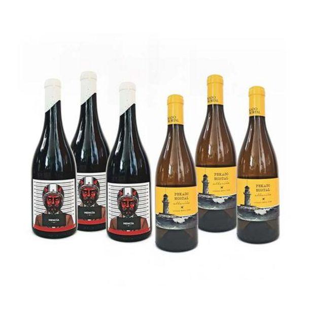 Oferta de Pekado Mortal Galicia Wines.-Lote 6x750ml. por 74,5€