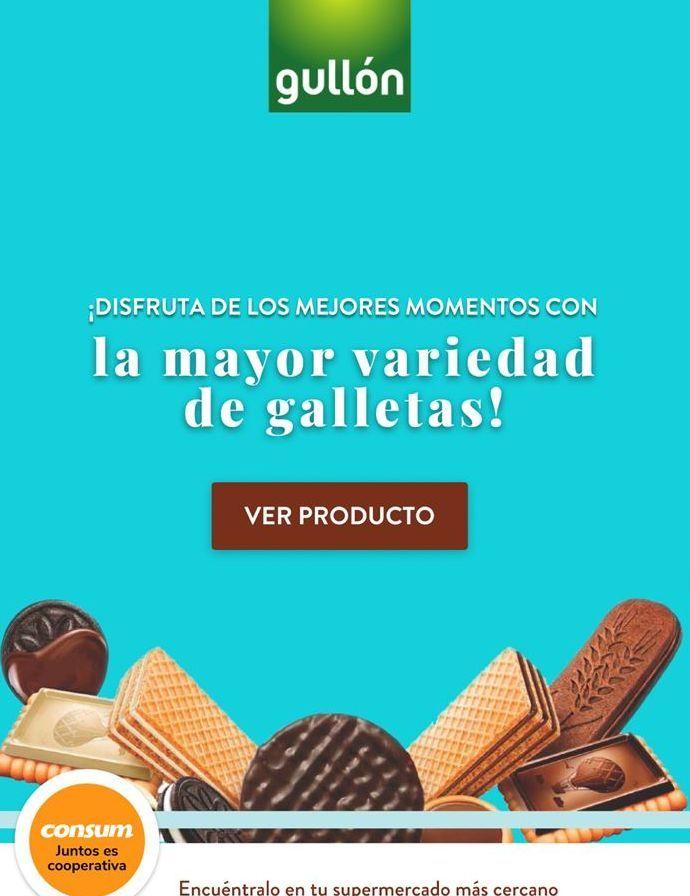 Oferta de Galletas de chocolate Gullón por