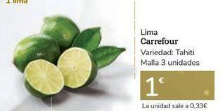 Oferta de Lima Carrefour por 1€