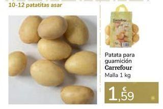 Oferta de Patata para guarnición Carrefour por 1,59€