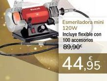 Oferta de Esmeriladora mini 120W  por 44,95€