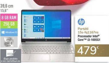 Oferta de Portátil 15s-fq1167ns HP por 479€