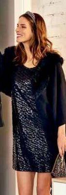 Oferta de Vestido lentejuelas mujer  por 9,99€