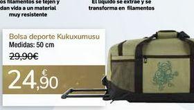Oferta de Bolsa deporte Kukuxumusu por 24,9€