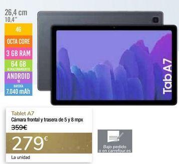 Oferta de Tablet A7 por 279€