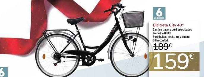 Oferta de Bicicleta City 40'' por 159€
