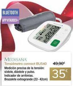Oferta de Tensiómetro connect BU540 MEDISANA por 35€