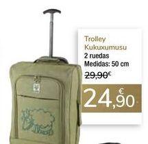 Oferta de Trolley Kukuxumusu por 24,9€