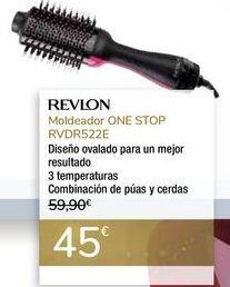 Oferta de Moldeador ONE STOP RVDR522E REVLON por 45€