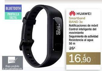 Oferta de Smartband BAND 3e HUAWEI por 16,9€
