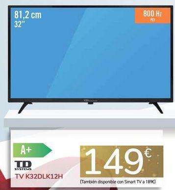 Oferta de TV K32DLK12H por 149€