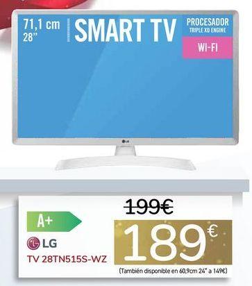 Oferta de TV 28TN515S-WZ por 189€