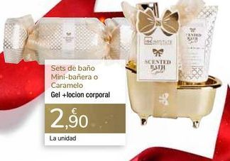 Oferta de Sets de baño Mini-bañera o Caramelo por 2,9€