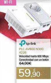 Oferta de PLC AV600 N300 4226 por 59,9€