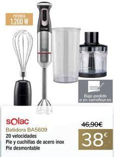 Oferta de Batidora BA5609 Solac por 38€
