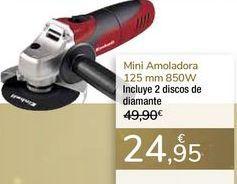 Oferta de Mini amoladora 125mm 850 W por 24,95€