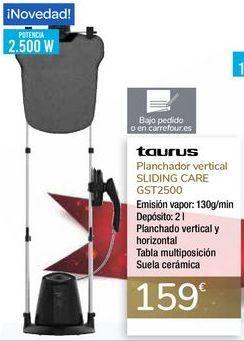 Oferta de Planchador vertical SLIDING CARE GST2500 TAURUS por 159€