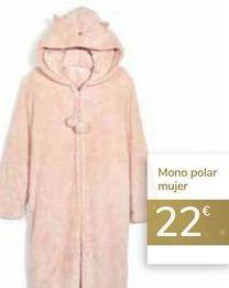 Oferta de Mono polar mujer  por 22€