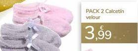 Oferta de PACK 2 Calcetín velour  por 3,99€