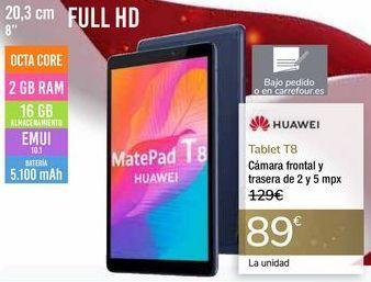 Oferta de Tablet T8 HUAWEI por 89€