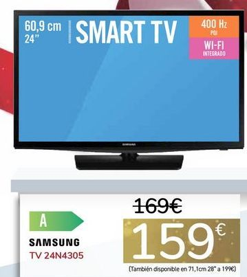 Oferta de TV 24N4305 por 159€