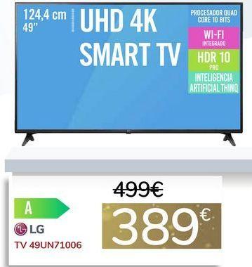 Oferta de TV 49UN71006 por 389€