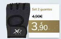 Oferta de Set 2 guantes  por 3,9€