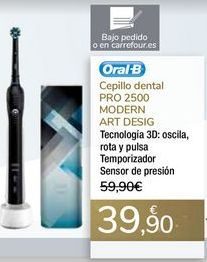 Oferta de Cepillo dental PRO 2500 MODERN ART DESIG  por 39,9€