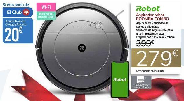 Oferta de Aspirador robot ROOMBA COMBO iRobot por 279€