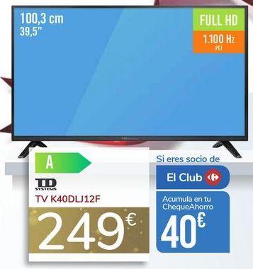 Oferta de TV K40DLJ12F por 249€