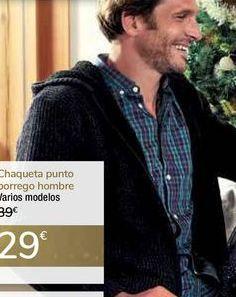 Oferta de Chaqueta punto borrego hombre  por 29€