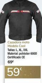 Oferta de Cazadora moto Modelo Cool  por 59€