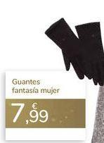 Oferta de Guantes fantasía mujer  por 7,99€