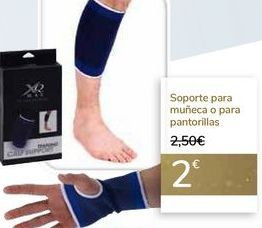 Oferta de Soporte para muñeca o para pantorillas  por 2€
