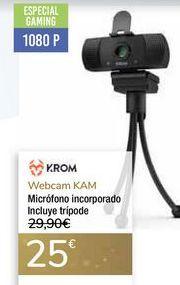 Oferta de Webcam KAM KROM  por 25€