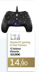 Oferta de Mando PC gaming K-Pad Thorium por 14,9€