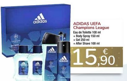 Oferta de ADIDAS UEFA Champion League  por 15,9€