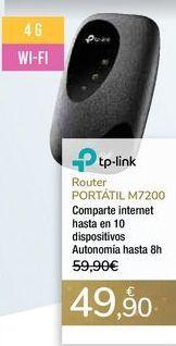 Oferta de Router PORTÁTIL M7200 por 49,9€