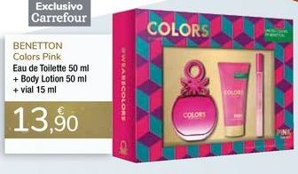 Oferta de Eau de Toilette + Body Lotion + vial BENETTON por 13,9€